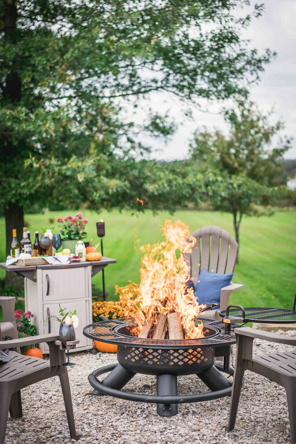 How To Set Up The Perfect Backyard Fire Pit!