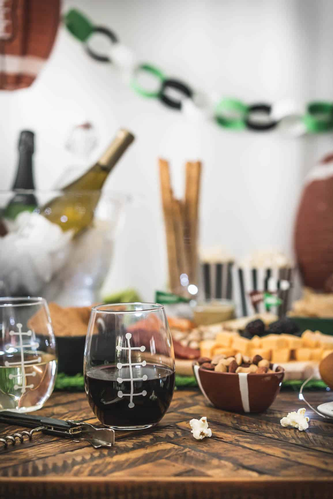These tips are just for game day parties, they are the easiest way to make any gathering wine-friendly.