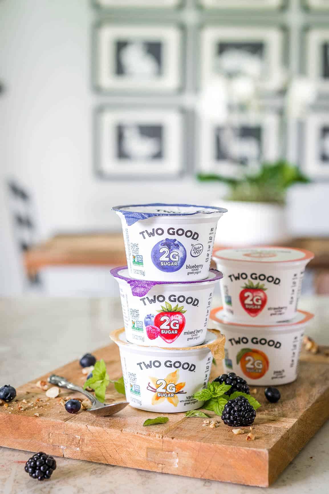 Keto Low Carb Breakfast Yogurt Parfait