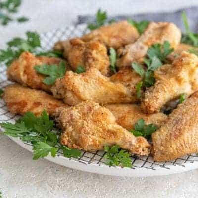 Crispiest Air Fryer Chicken Wings Recipe